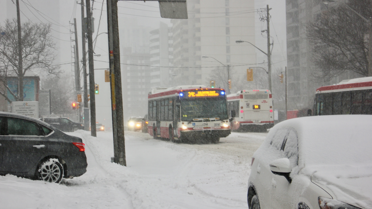 An Ontario Storm Is Expected To Hit Most Southern Regions And Make Friday's Commute Gross