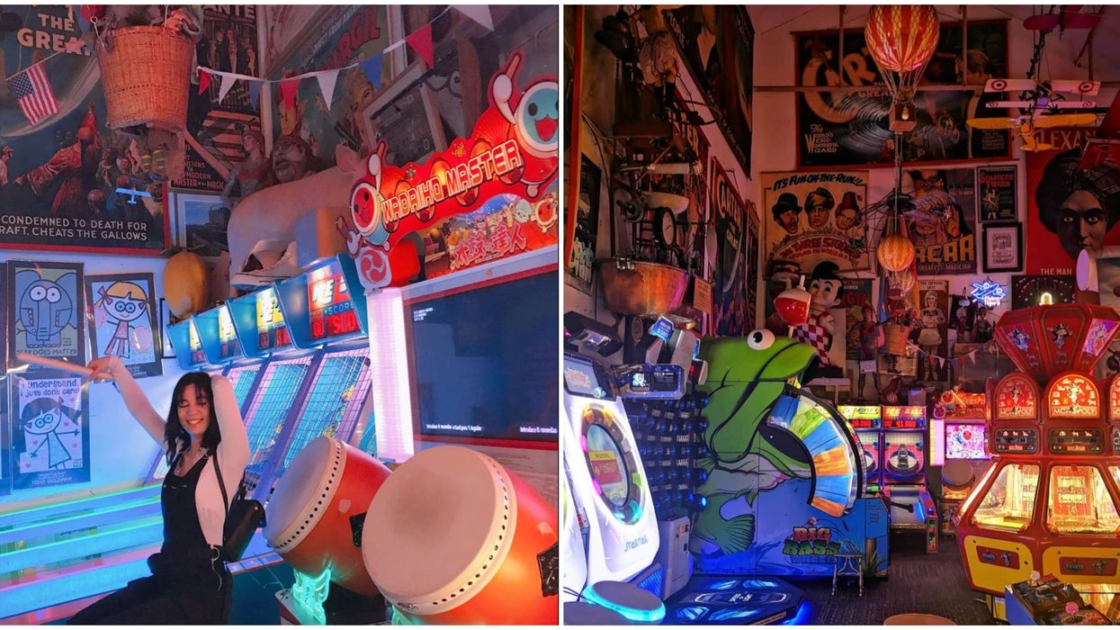 Things To Do In Detroit Include Visiting This Magical Vintage Arcade
