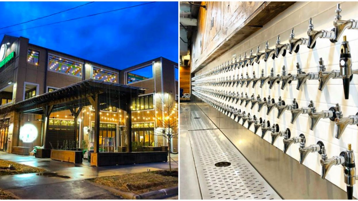 Rooftop Bars In Charlotte Include This Tap Room With 375+ Beers