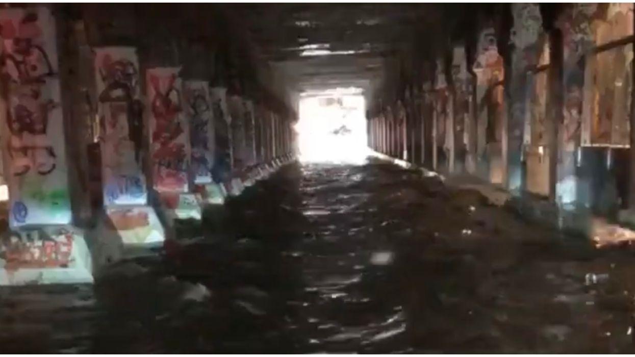 "Atlanta Flood Warning And Severe Weather Created A ""Krog Street River"""