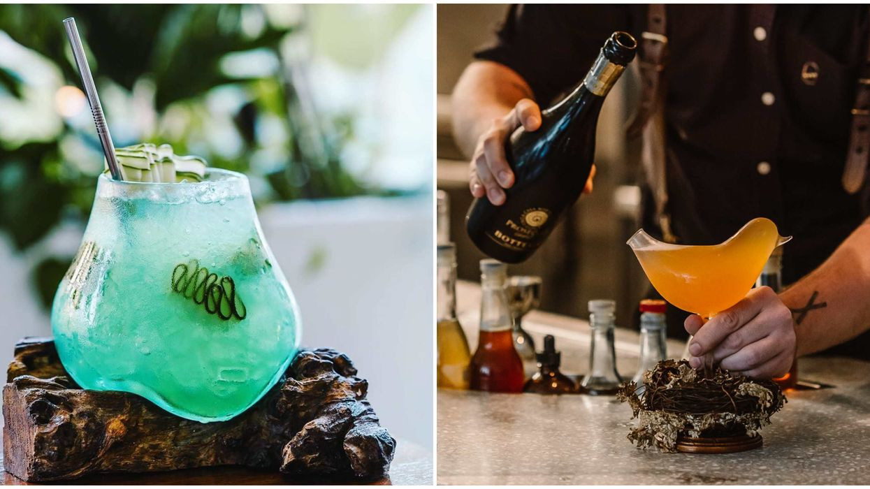 Cocktails At Vancouver's Botanist Drink Lab Are The Most Mind Blowing In The CIty