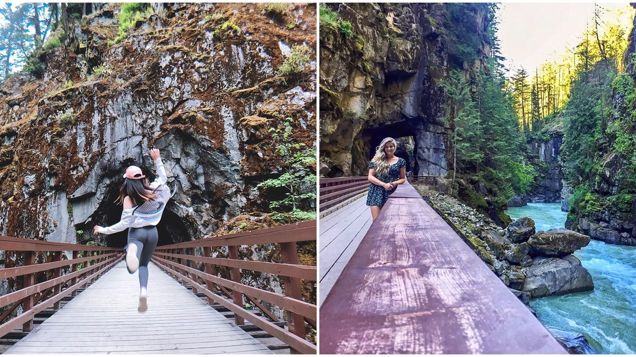 B.C. Abandoned Train Tunnels Hike Is Totally Free & Reopens This Spring