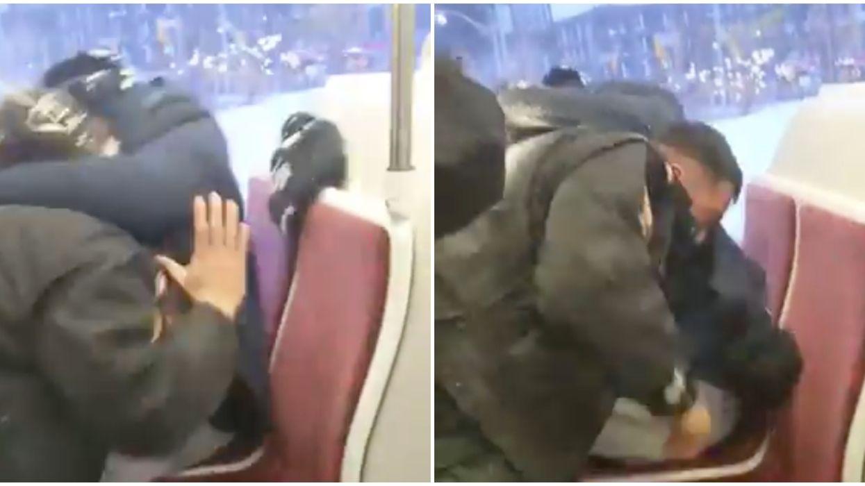 Police Investigate Violent Fight Between TTC Fare Inspector & Commuter (VIDEO)