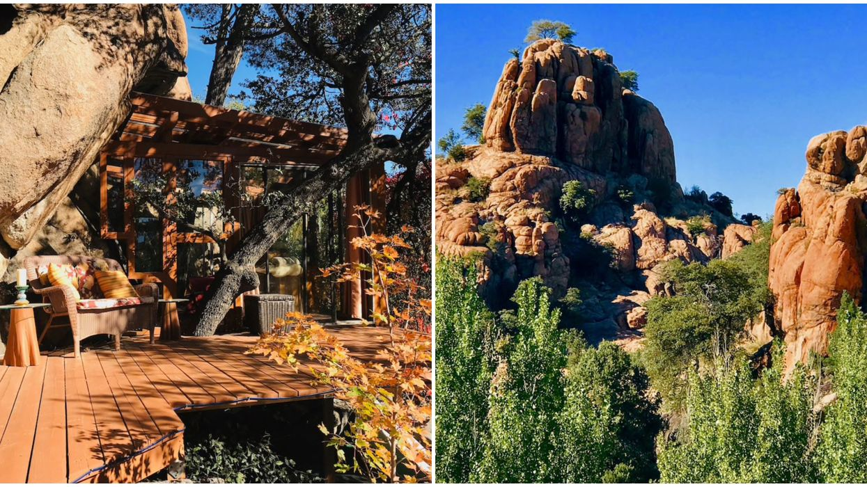 This Awesome Treehouse Rental In Arizona Is Cheap To Stay At With Friends