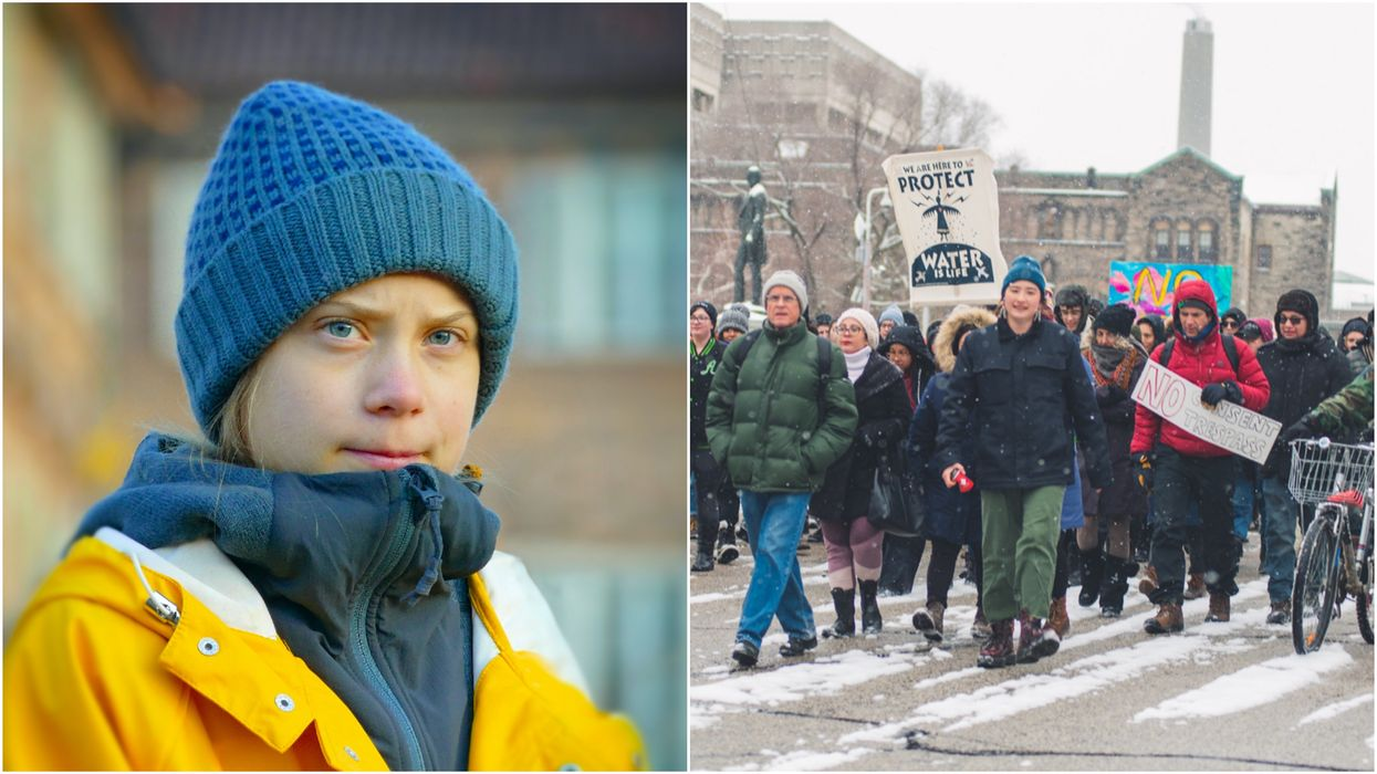 Greta Thunberg Supports Activists Rallying For Wet'suwet'en In BC (PHOTOS)