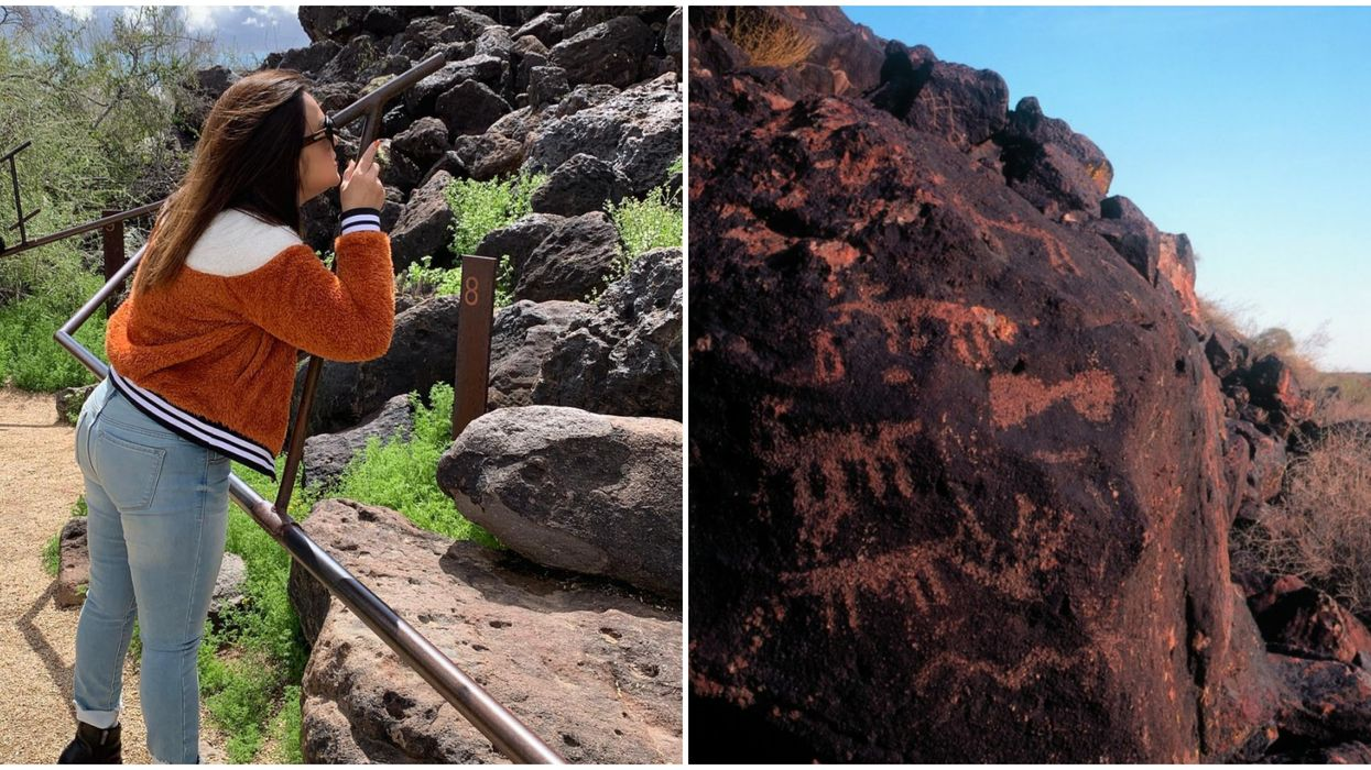 You Can See Petroglyphs In Phoenix At This Hidden Park In The City