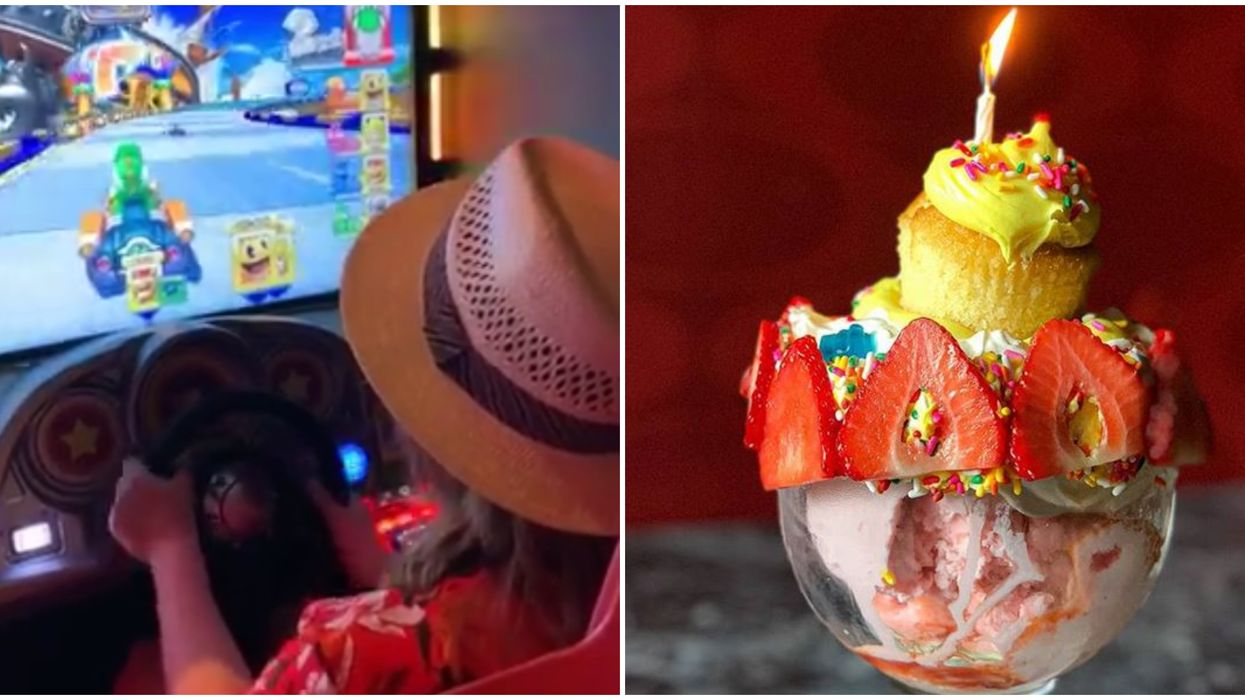 You Can Get Massive Sundaes And Play Oldschool Arcade Games At This Florida Spot