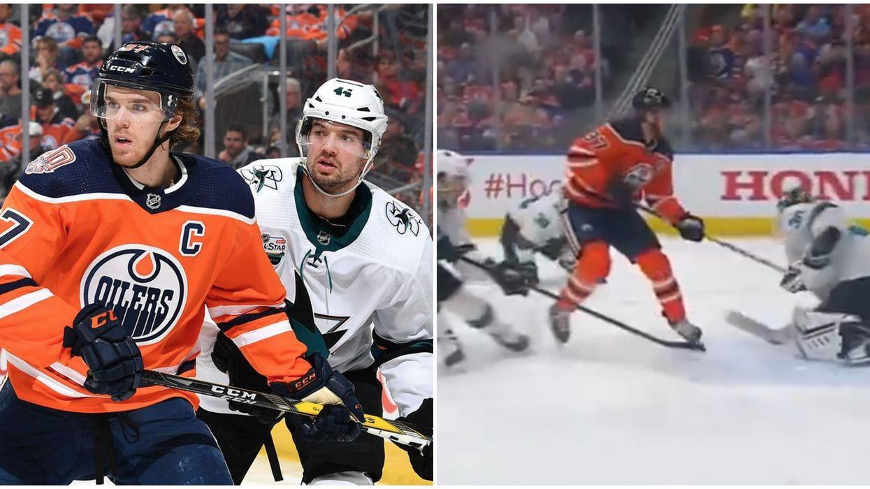 Edmonton Oilers Had Fans Shook With McDavid Injury Scare & Epic Comeback (VIDEOS)