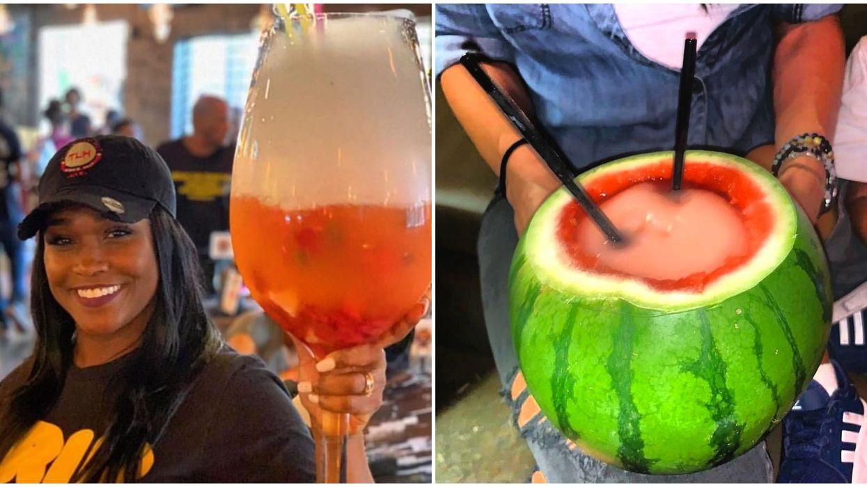 Houston's Turkey Leg Hut Has A New Watermelon Drink On Their Menu