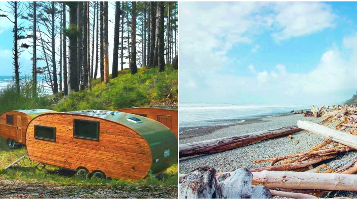 This Unique Getaway In Washington State Lets You Glamp In Affordable Olympic Cabins