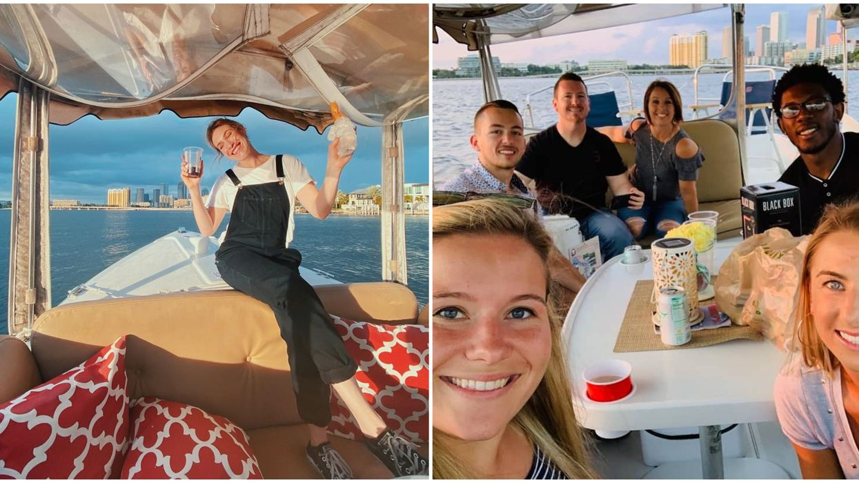 These Boat Rentals In Tampa Let You Brunch With Booze On The Waves