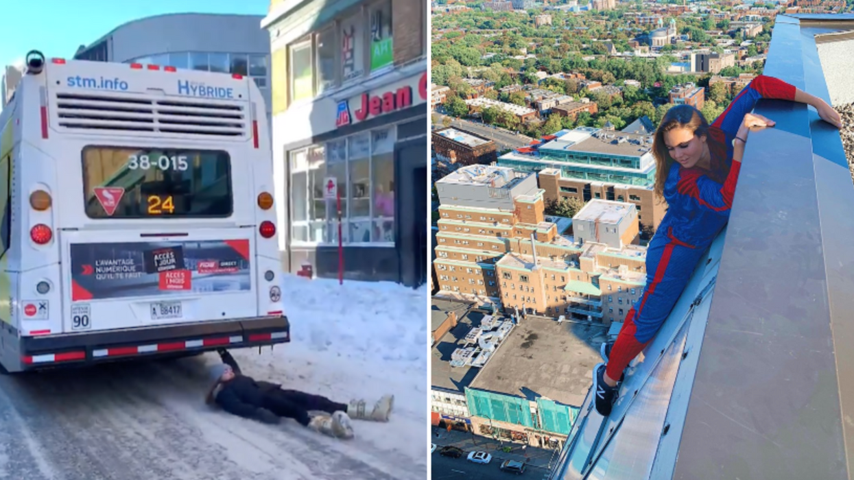 8 Things You Need To Know About Cassandre, The Stuntwoman Behind The Bus In Montreal