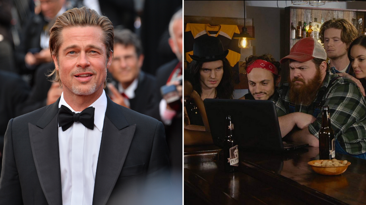 """Brad Pitt Spoke About His Love For Canadian Show """"Letterkenny"""" At The Oscars (VIDEO)"""