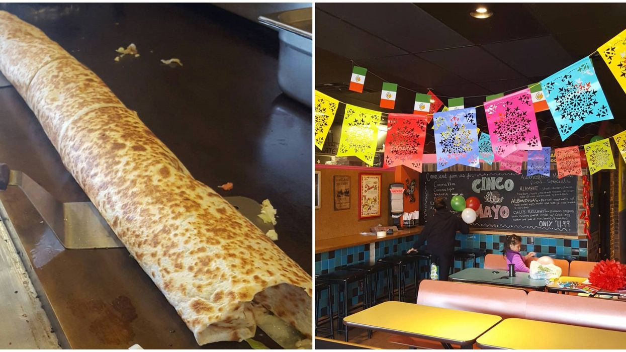 Massive Burrito Challenge In Michigan Needs To Be Finished In Twelve Minutes