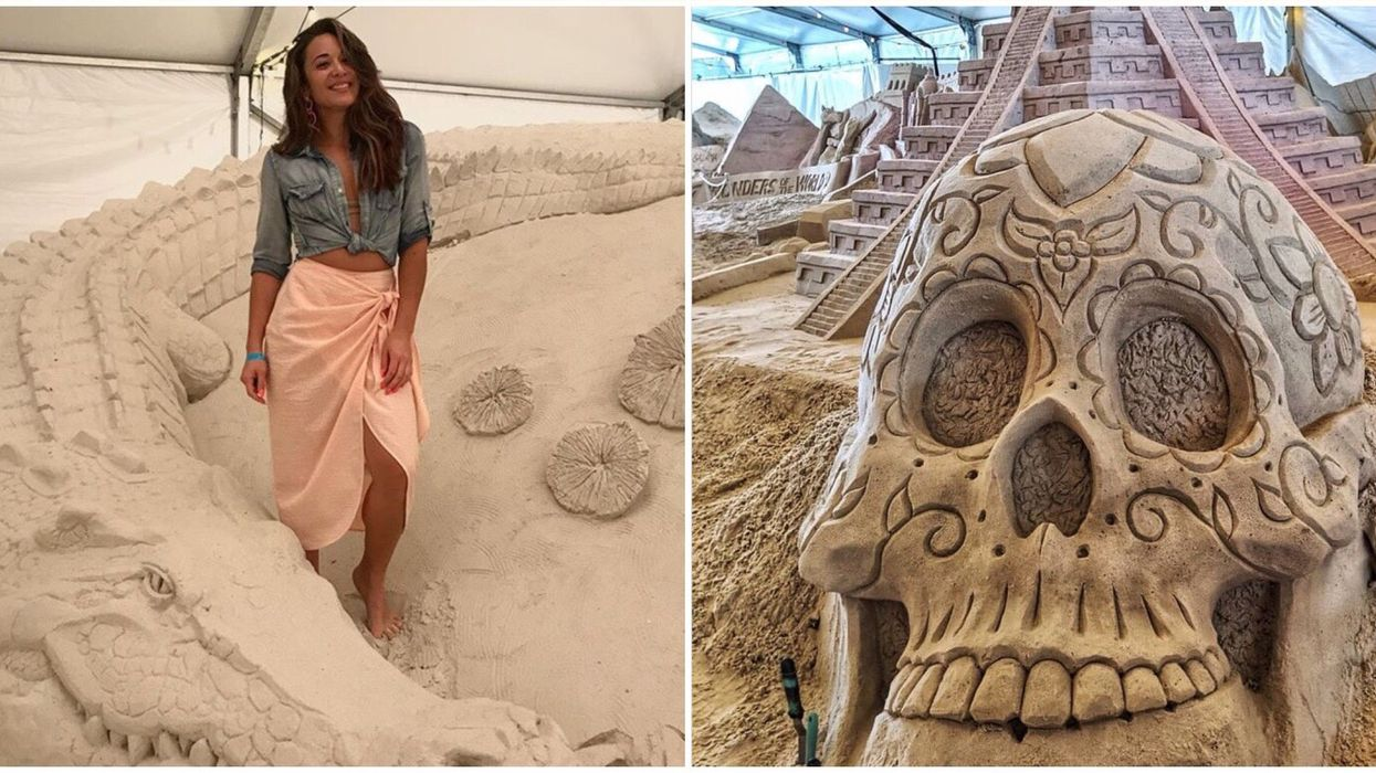 The Best Beach Near Tampa Bay Is Having A Sand Sculpting Festival