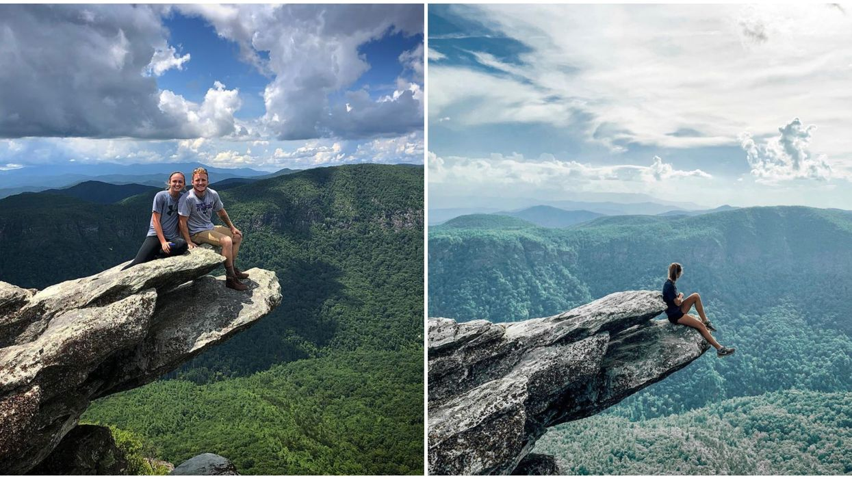 Hiking In North Carolina Is Picture-Perfect At This Mountaintop Spot
