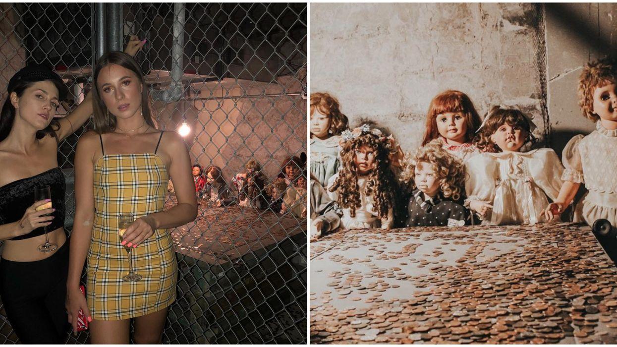 Hanny's Basement Dolls Are Creepy Art Installations