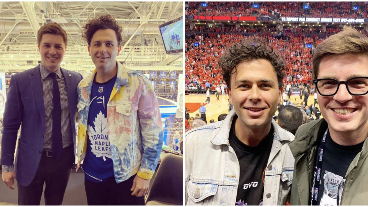 Maple Leafs' GM And Arkells' Frontman Actually Have A Super Cute Old Bromance