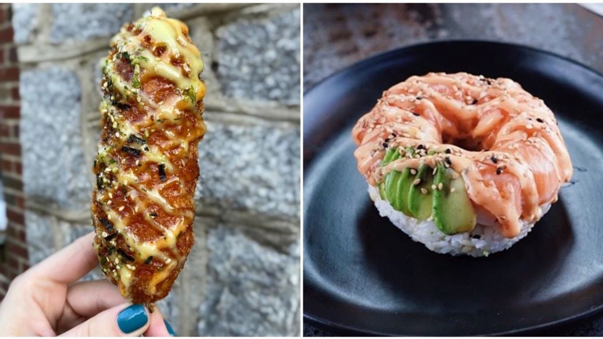 This Tampa Sushi Restaurant Has Sushi Donuts, Pizza & Corn Dogs
