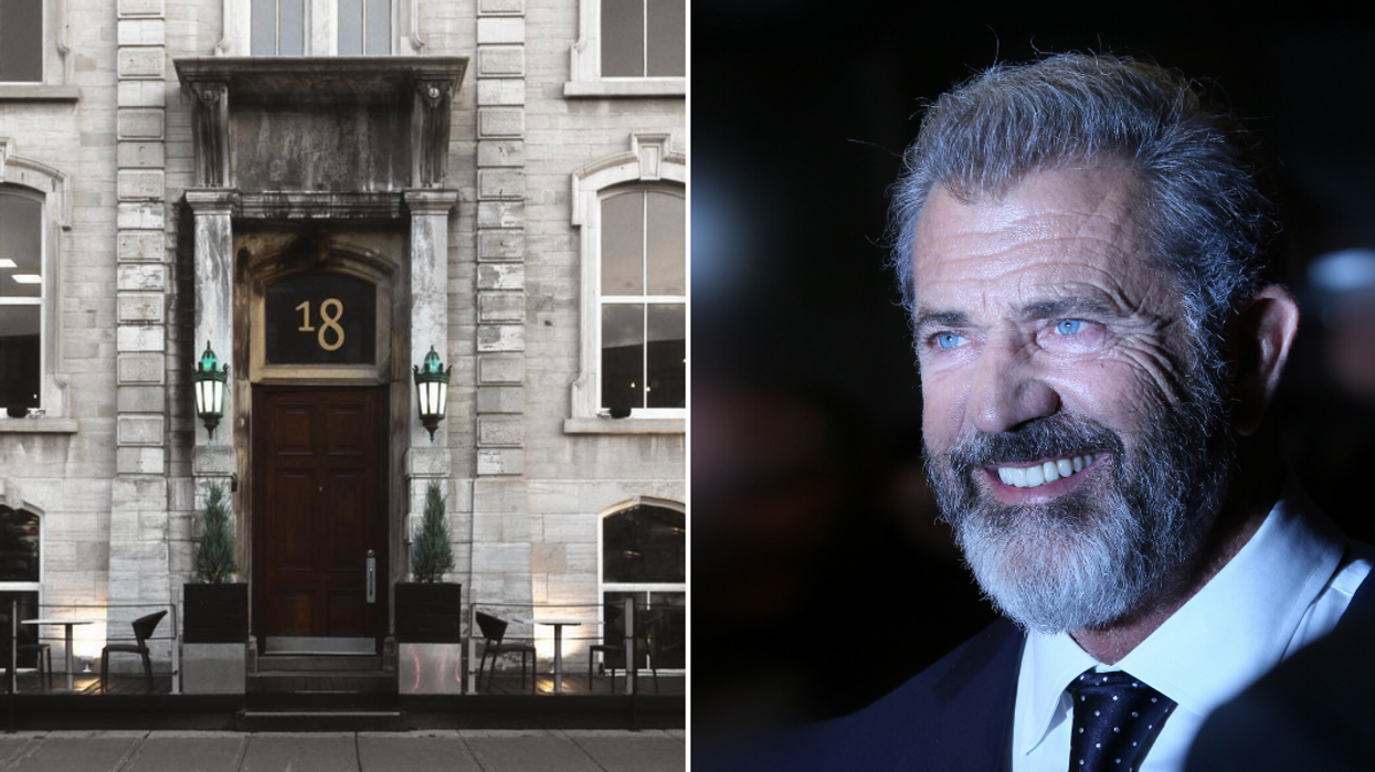 """Mel Gibson Has Been Spotted All Over Ottawa Since """"Fatman"""" Filming Started (PHOTOS)"""