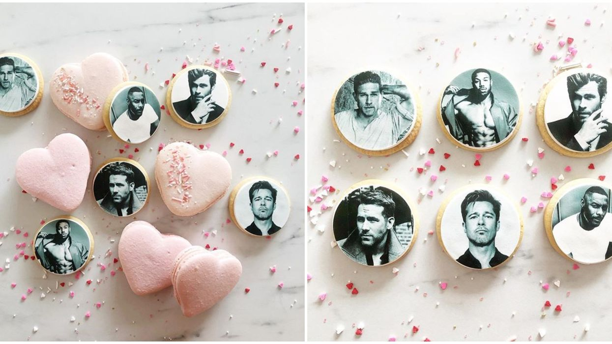 Pretty Sweet Backshop In Calgary Is Seeling Hot Men Cookies For V-Day & You Need Them