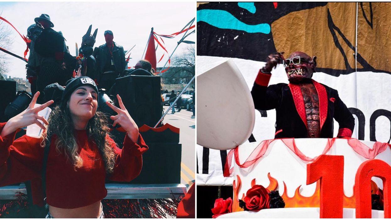 Mardi Gras's Got Nothing On Detroit's Festival Chasing Away A Demon