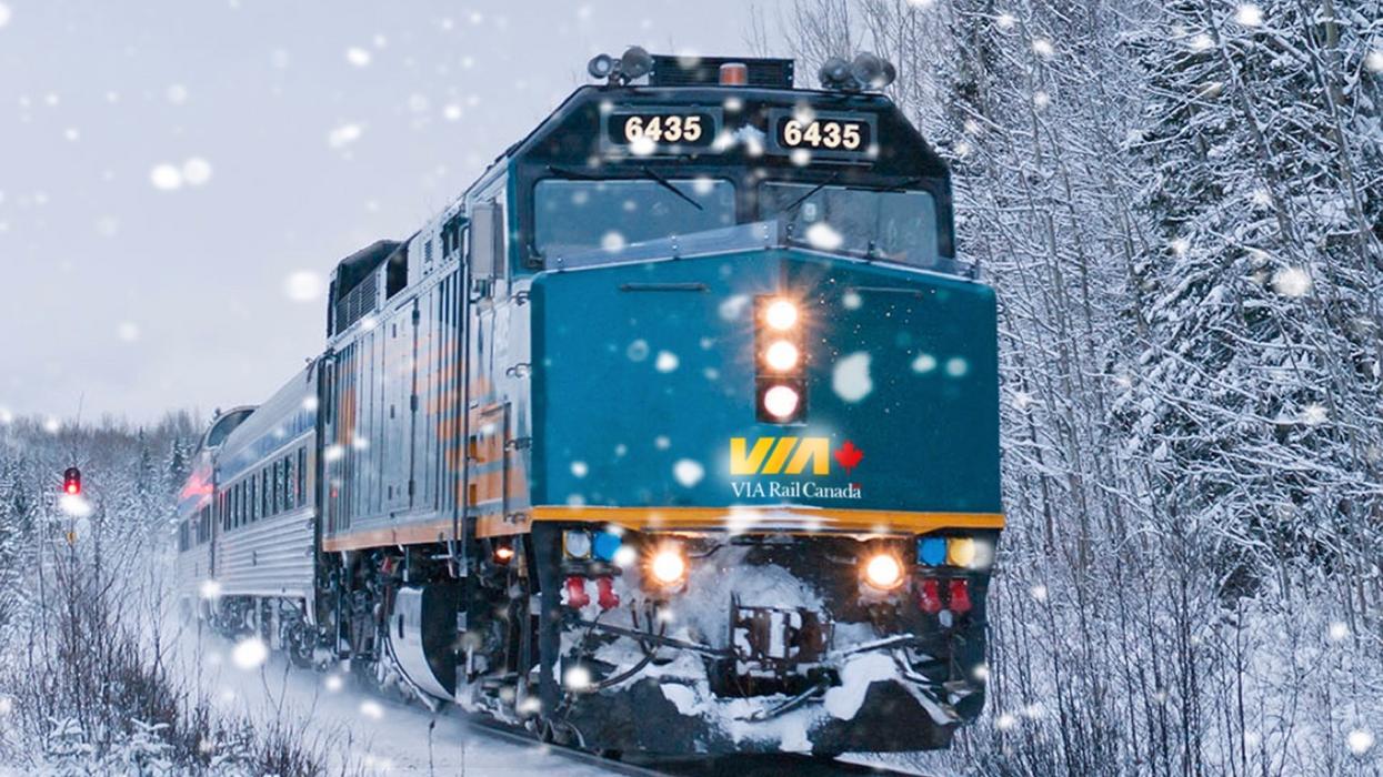 VIA Rail annule tous ses trains au pays et le CN annule l'est du Canada