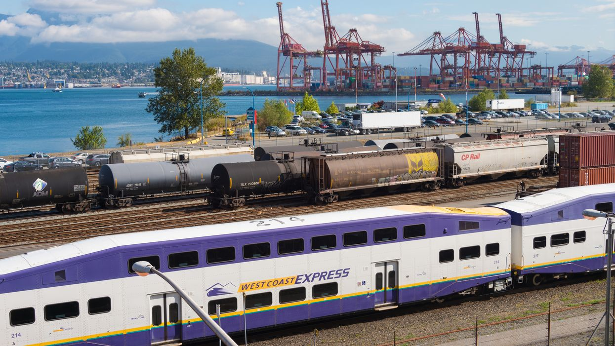 West Coast Express Trains Are Cancelled Due To Protests Blocking The Tracks