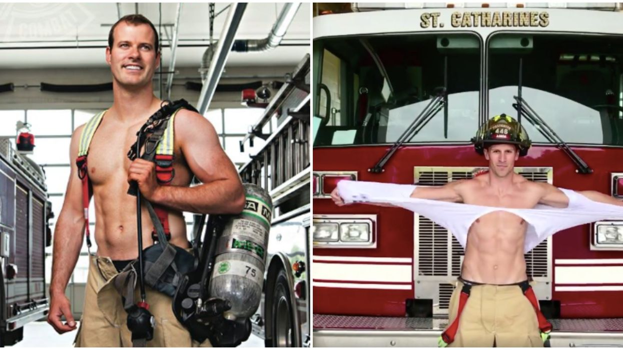 St. Catharines Fire Department Calendar Is Too Sexy To Sell, According To Officials