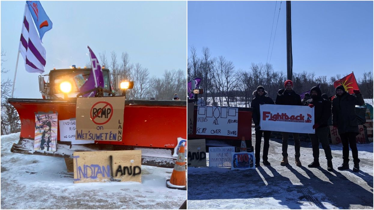 """Railway Blockades In Canada Continue & Protestors Say They're """"Not Going Anywhere"""""""