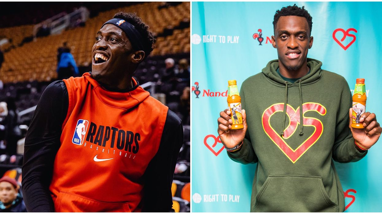 Pascal Siakam Just Told Us What He Loves Most About Toronto & His Fans