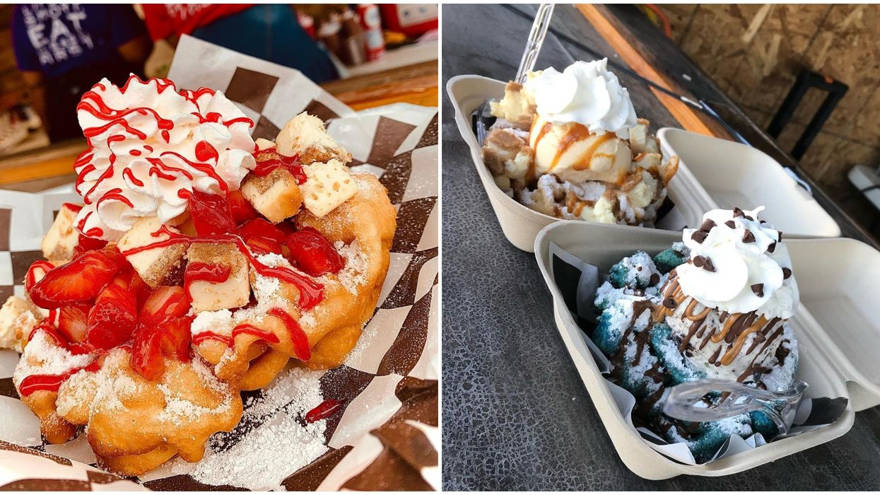 A Funnel Cake Pop Up In Houston Is Open This Month