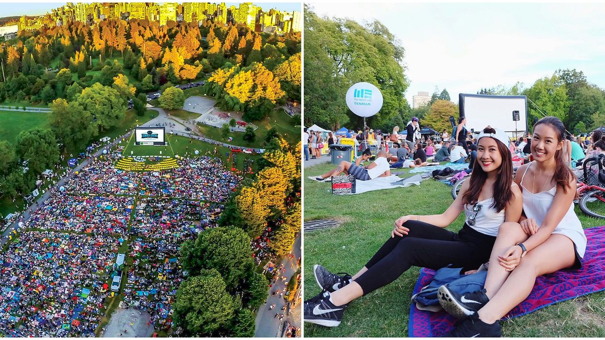 Free Movie Nights In Stanley Park Have To Be On Your Vancouver Summer Bucket List