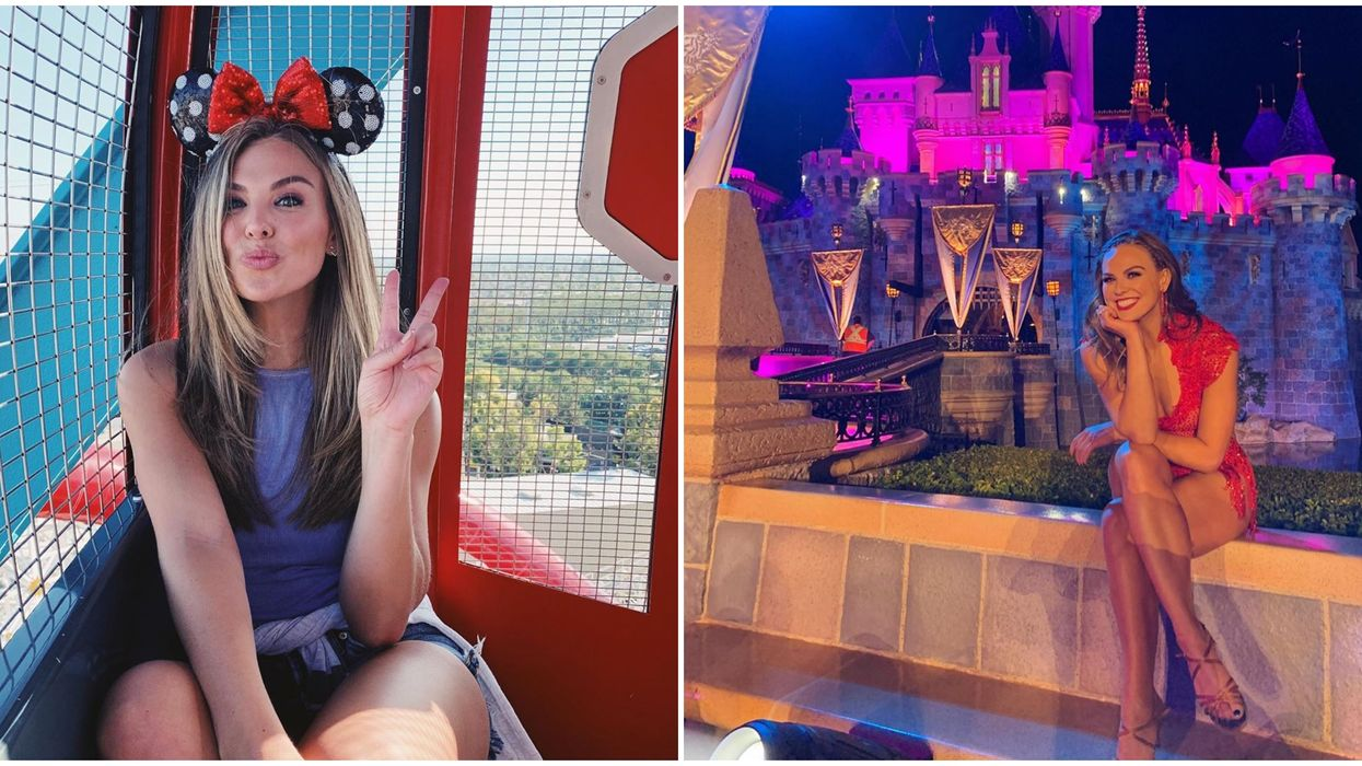 Hannah Brown Adorable Disneyland Date Is Total Friendship Goals