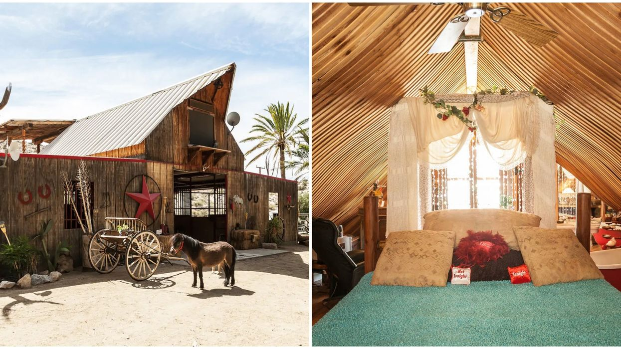 Airbnb In California Takes You Back To The Wild West & Has Its Own Saloon