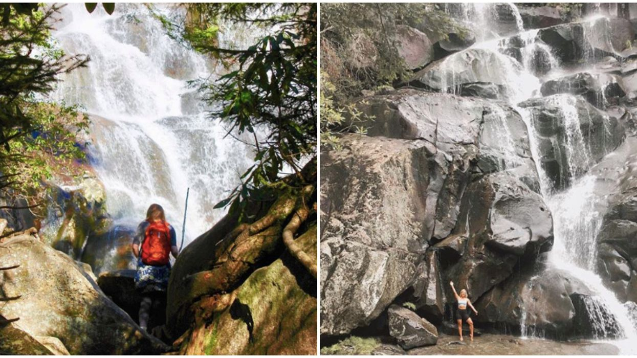 Hike In The Smokies Leads You To A 100-Foot Waterfall