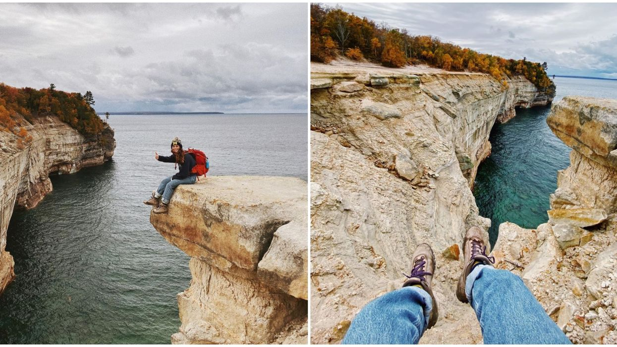 Pictured Rocks National Lakeshore Has Some Breathtaking Cliffs & Unbelievable Views
