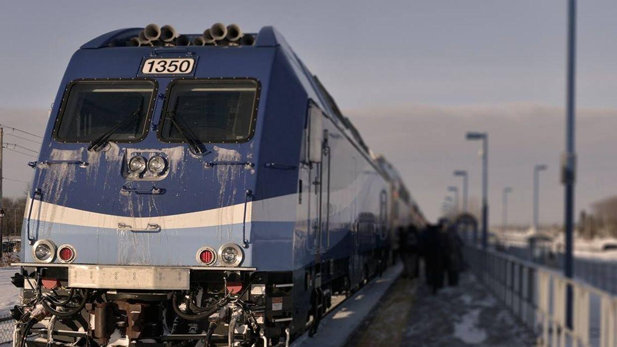Le service de train de banlieue à Candiac toujours interrompu jusqu'à nouvel ordre
