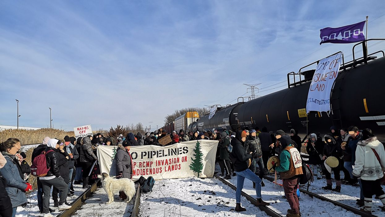 GO Train Rail Blockade Leads To Some Cancellations As Protests Continue