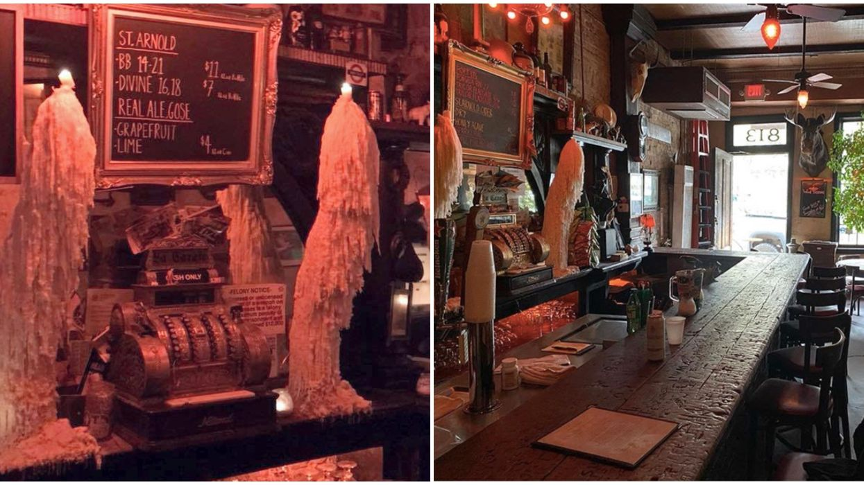 You Can Drink A Beer Among Ghosts At The Oldest Haunted Bar In Houston
