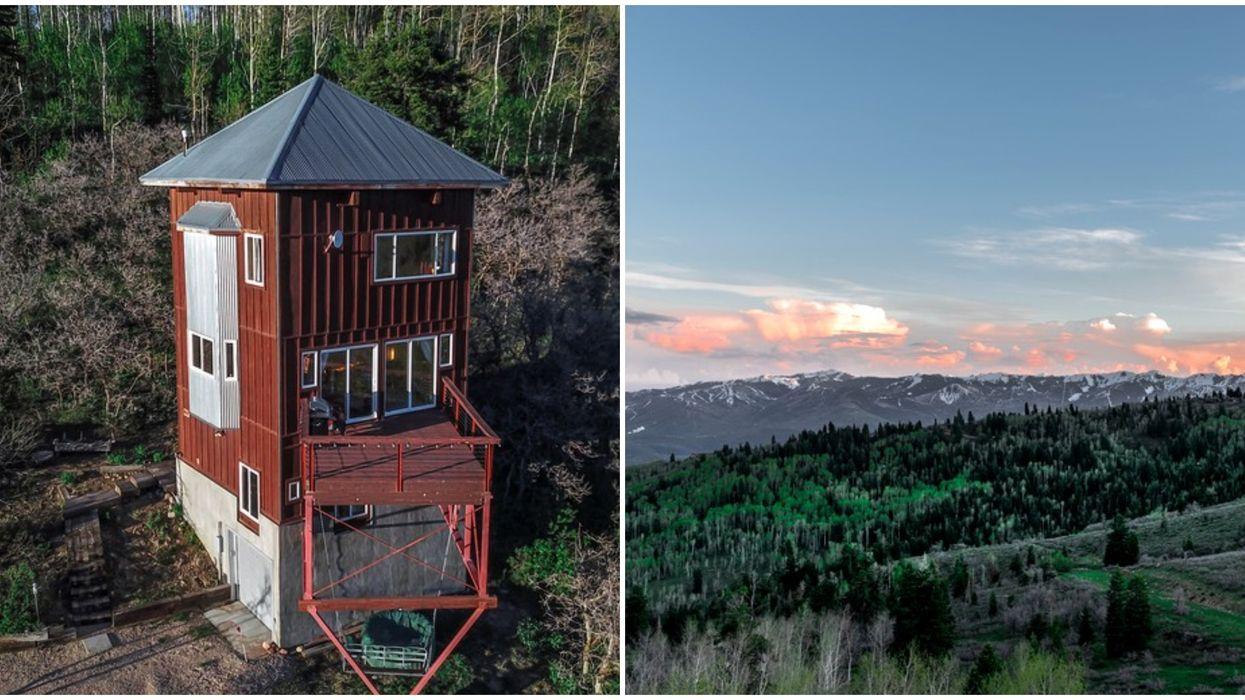Cabin Rental In Utah Has Panoramic Views For A Romantic Getaway