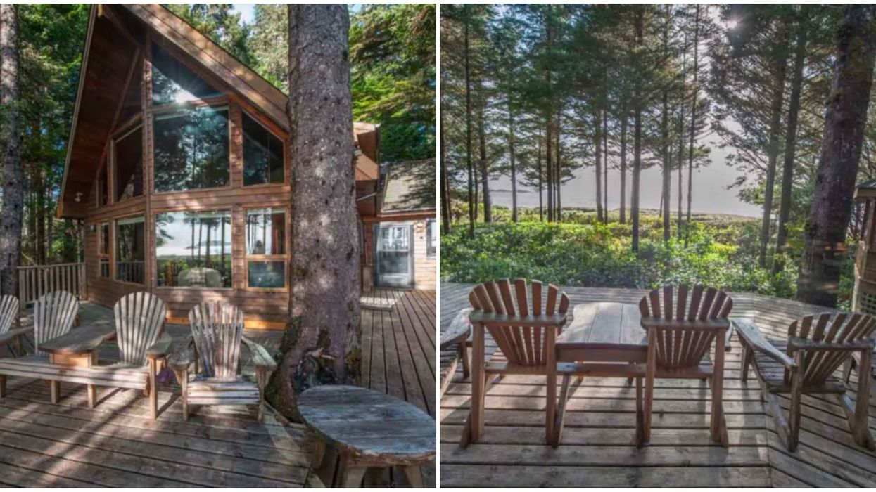 Beach House For Rent In Tofino Is Perfect For Your Next Friend Group Trip