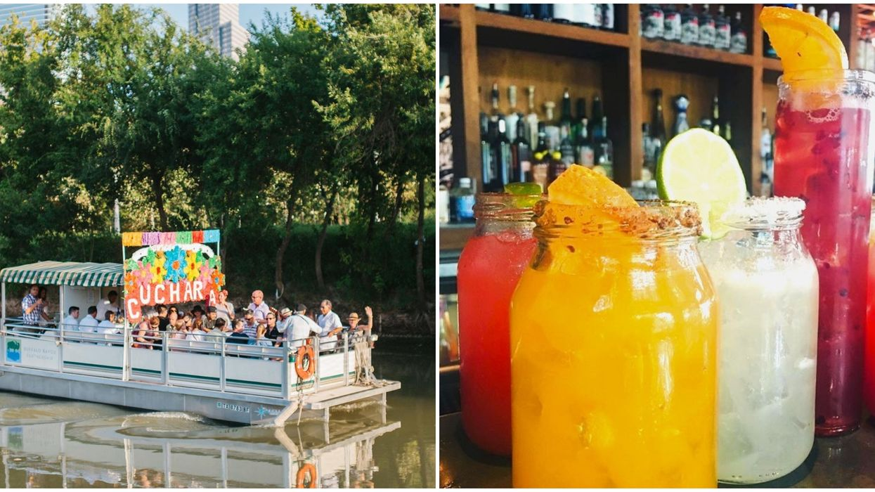 A Houston Boat Has Unlimited Margs Starting This Month