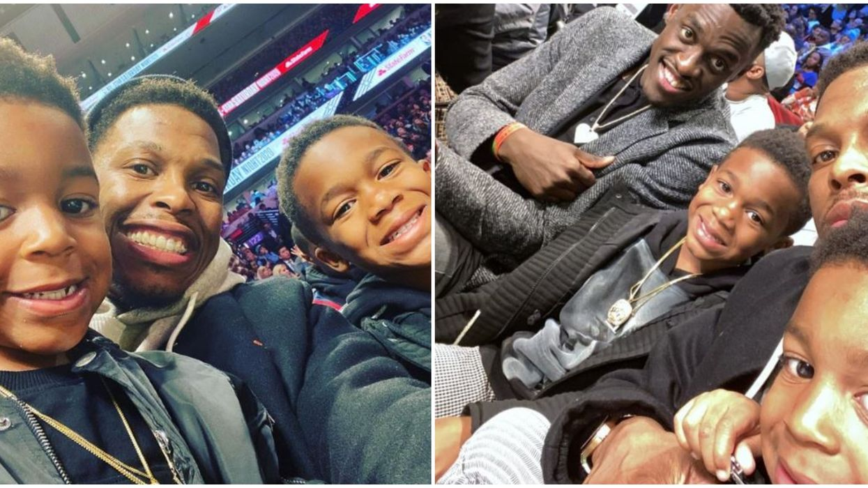 Kyle Lowry's Kids Absolutely Stole The Show At NBA All-Star Weekend