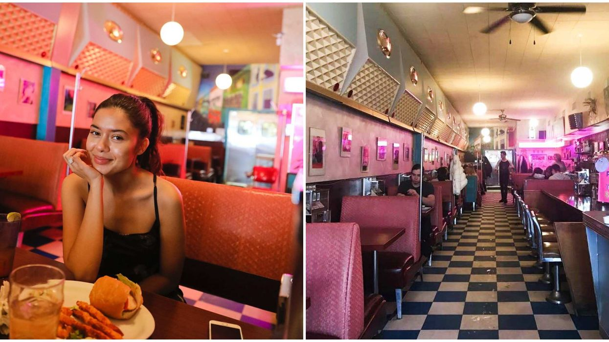Edmonton Diner Will Will Make You Feel Like You're In Riverdale