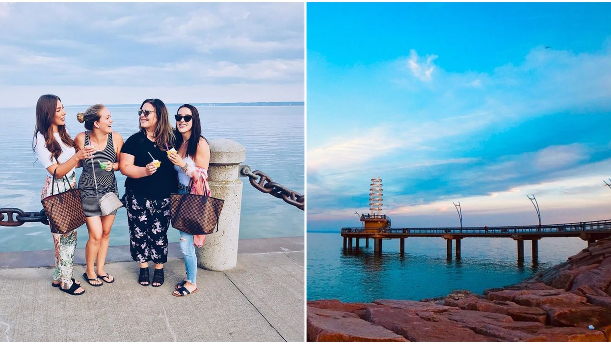 Burlington's Pier Is The Perfect Spring Road Trip With Your BFFs
