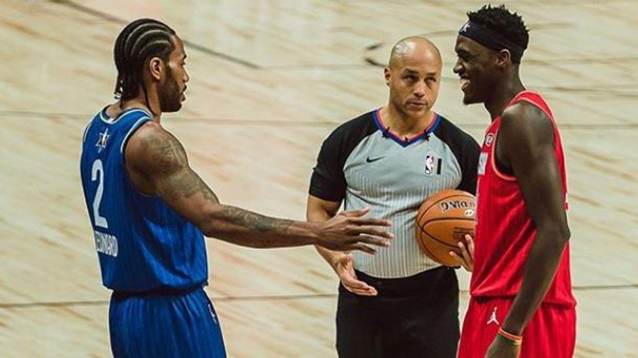 Kawhi And Pascal Siakam Shared Jokes As Raptors Reunited At The All-Star Game