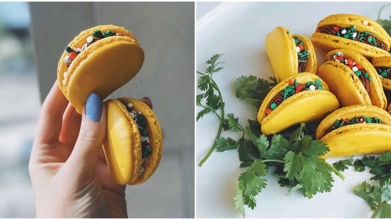 """This Bakery In Scottsdale Sells """"Taco"""" Macarons All Year Long"""