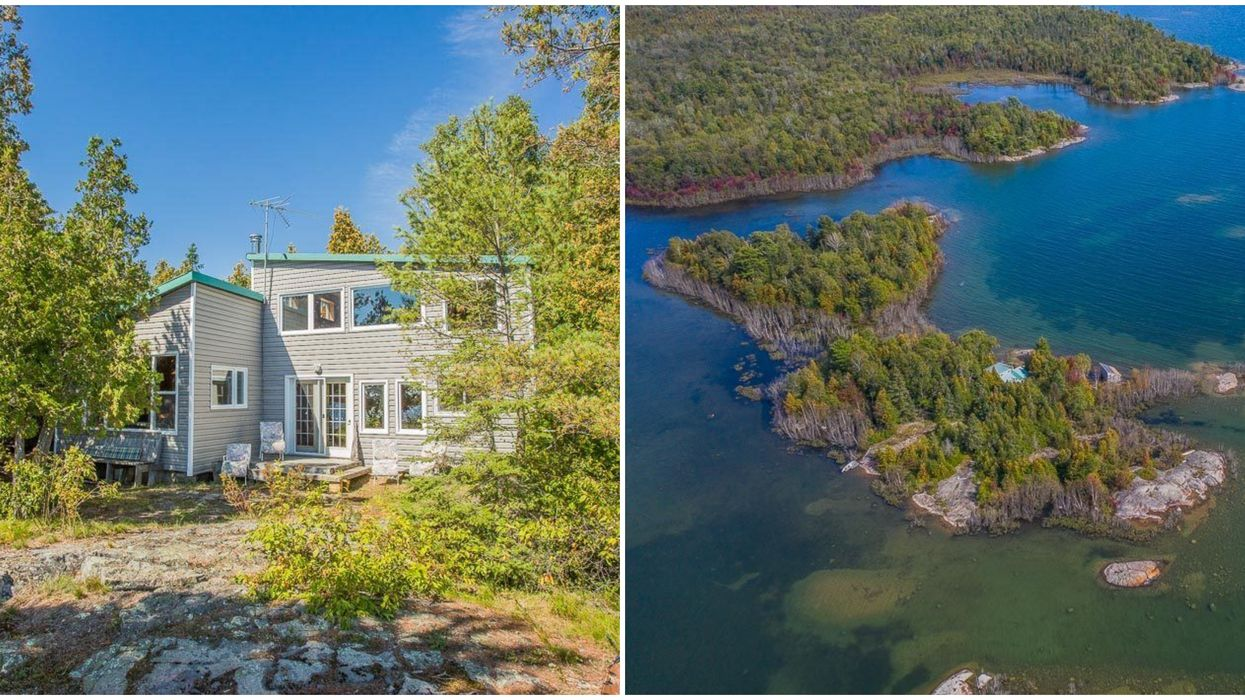 An Ontario Cottage For Sale On A Breathtaking Private Island Is Actually In Your Budget
