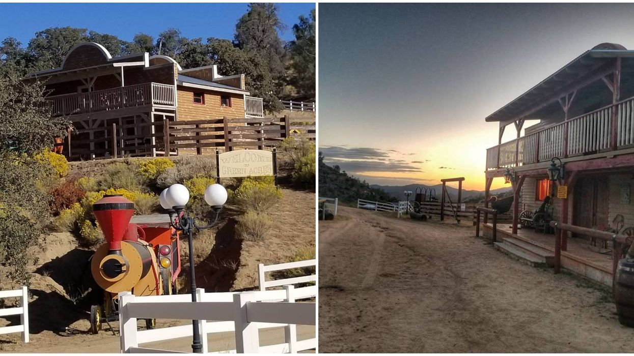 This California Airbnb Lets You Rent Your Own Ghost Town With Friends For Cheap